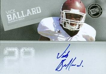 Ryan Clady Autographed Football Card (Boise State) 2008 SAGE No.A14 Rookie ()