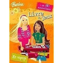 Livre de Jeux Barbie en Voyage