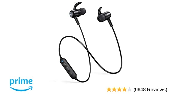 Bluetooth Headphones TaoTronics Wireless Earbuds Sport Earphones 9 Hours  4 2 Magnetic Lightweight & Fast Pairing (CVC 6 0 Noise Cancelling Mic, Snug