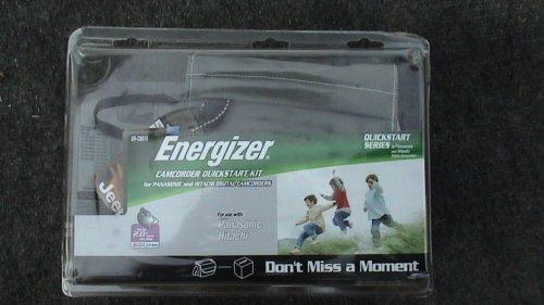 Energizer Starter Kit For Panasonic and Hitachi Camcorders E