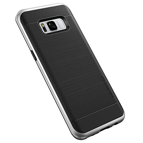 Galaxy S8 Plus VRS Design [High Pro Shield] Shockproof Case Cover Satin Silver
