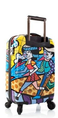 Heys - Künstler Britto Spring Love Trolley mit 4 Rollen Medium