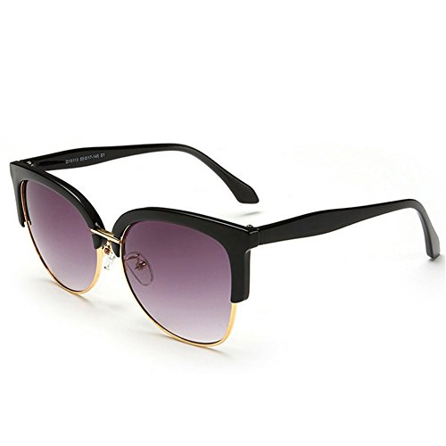 KaiSasi 2016 New Retro Unisex Sunglasses Eyebrow Color Dazzling Metal Half Frame - 2016 World The Expensive Sunglasses Most In