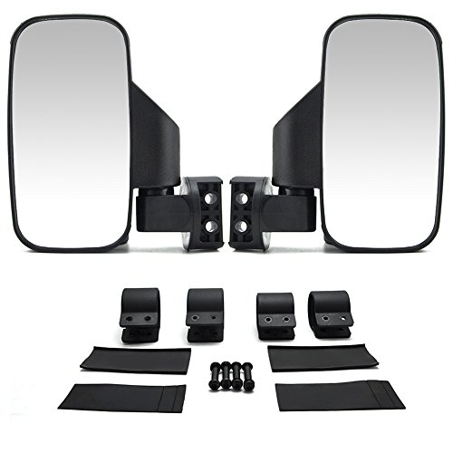 Set of 2 UTV Side View Mirror for 1.5