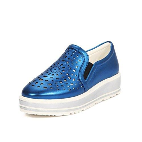 Casuales Sandalette Zapatos Suela DEDE Zapatos de Casual Calzado Zapatos blue Casuales Zapatos 1xrzw1RqH