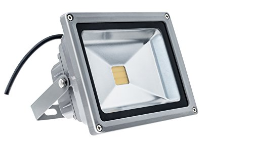 TDRSHINE Super Bright Outdoor LED Flood Lights, Waterproof, 12000lm, Daylight White, 6000K, LED Security Lights (100W) by TDRSHINE