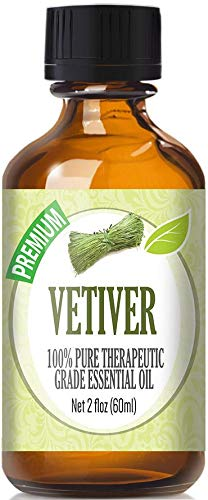 Vetiver (60ml) 100% Pure, Best Therapeutic Grade Essential Oil - 60ml / 2 (oz) Ounces
