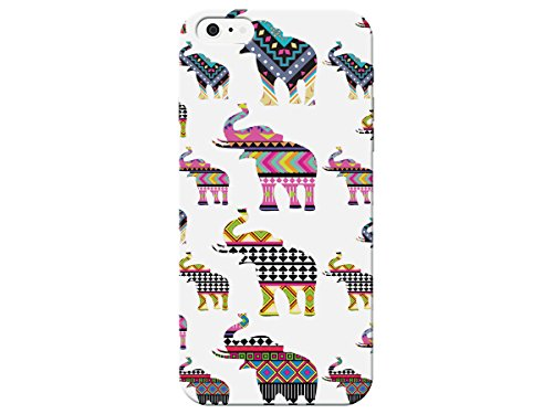 Indian Design Aztec Elephant Phone Back Cover For Apple Iphone 5c Case By iCandy Products