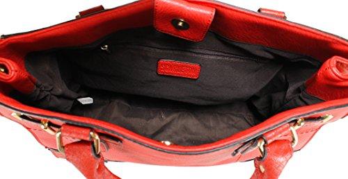 Scarleton - Borsa a tracolla donna Red