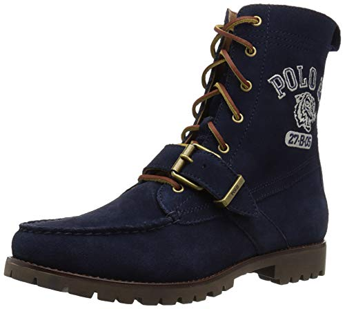 Polo Ralph Lauren Men's Ranger Fashion Boot, Aviator Navy, 8 D US