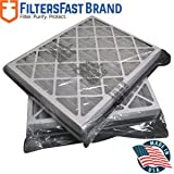 FiltersFast Compatible Replacement for Trane 21' x 26' x 5' (Actual Size: 19 7/8' x 25 1/4' x 4 7/8') Perfect Fit Filter BAYFTAH26M MERV 13 2-Pack