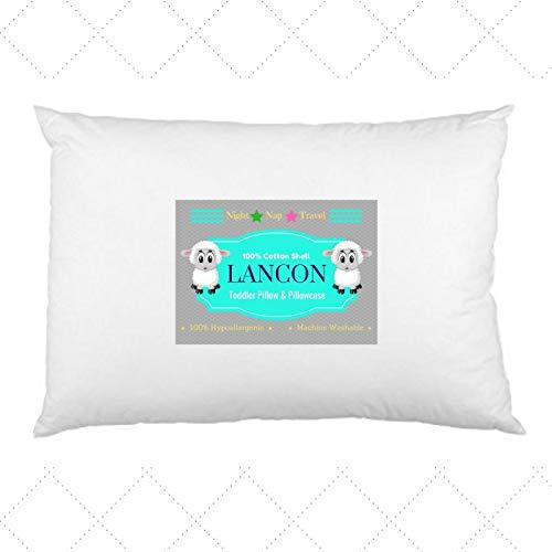 LANCON Kids Toddler Pillow