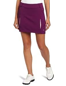 Puma Golf Women's Pleated Woven Skirt, Gloxiinia, 6