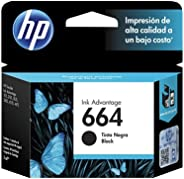 HP F6V29AL Cartucho Original de Tinta 664 Advantage, color Negra