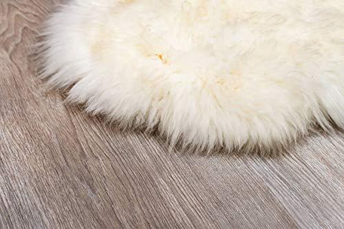 Amazinggirl Lammfell Weiß Schaffell Teppich Teppich Teppich Geschenkbox Naturform Echt Fell NATURFELL Sheepskin Paket FÜR Geschenk (Weiß, 130 x 140 cm) B076KF2GM2 Teppiche ed654f