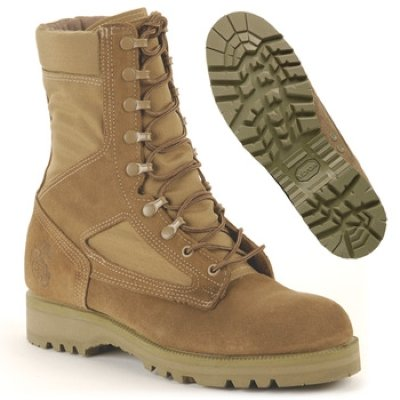 USMC Hot Weather Combat Boot - No Spike Protection -Olive - stylishcombatboots.com