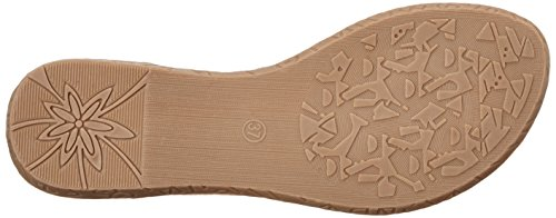 XTI Gold Metallic Ladies Sandals . - Sandalias con cuña Mujer Gold (Gold)