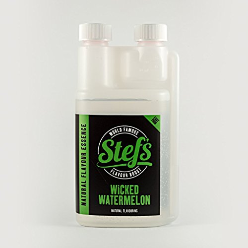 Stef's Wicked Watermelon - Natural Watermelon Essence 5L/170fl.oz by Stef Chef