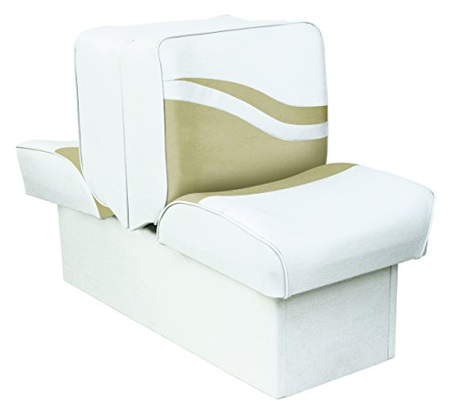 Wise Weekender Series Base Runabout Lounge Seat, White/Sand (Wise Lounge)