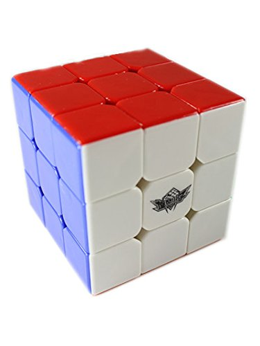 GoodPlay Cyclone Boys Xuanfeng 3x3x3 Speed Cube Stickerless 3D Intelligence Smooth Brain Teaser Twist Puzzle Stickerless +One Customized Cube - Face Figure How Shape Out To