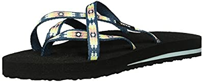 Teva Women's W Olowahu Sandal, Pana Stellar, 6 M US