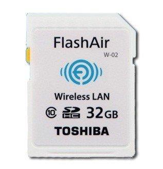 Toshiba R032GR7AL01SDHC Air Class 10Flash memory card
