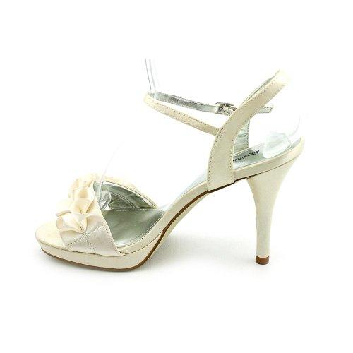 Style & Co Hottie Womens Size 10 Nude Open Toe Textile Slingbacks Heels Shoes s3JG2YndH