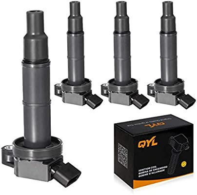 DEAL Set of 1 New Ignition Coil For Lexus Scion Pontiac Toyota 2.4L L4 Compatible with UF333 UF494 C1330