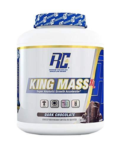Ronnie Coleman Signature Series King Mass-XL Dark Chocolate Super anabolic Growth Accelerator 6 Pound, 6 Pound