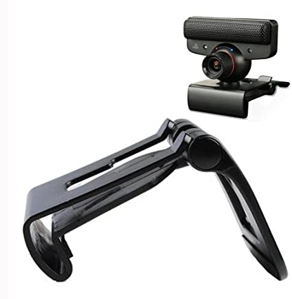 yanw TV Monitor Clip Mount Holder Stand for Sony Playstation 3 PS3 Move Eye Camera