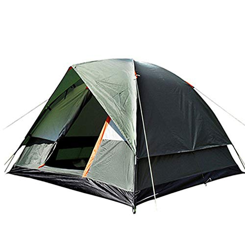 one- Three Person 200200130Cm Double Layer Weather Resistant Outdoor Camping Tent for Fishing,Greeen Tent