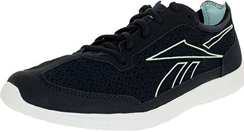 Reebok Women's Sport Ahead Action RS Walking Shoe, Faux Indigo/White/Cool Breeze, 6.5 M (Action Sports Footwear)