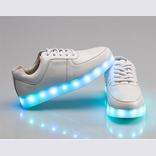 Acever 12-light Heren Led Sport Sneaker Schoenen (us Size 6.5 Voor Heren)