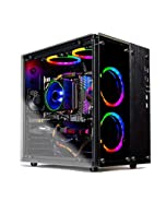 SkyTech Legacy II - Gaming Computer PC Desktop - Ryzen 7 2700 8-Core 3.2 GHz, NVIDIA GeForce RTX 2070 8GB, 1TB SSD, 16GB DDR4, AC WiFi, Windows 10 Home 64-bit