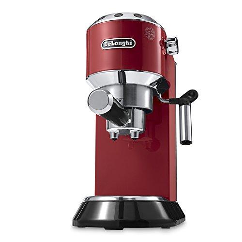 DeLonghi DeLonghi EC 680.R - Cafetera, color rojo, 1450 W, 0 Decibeles, Acero Inoxidable, plástico