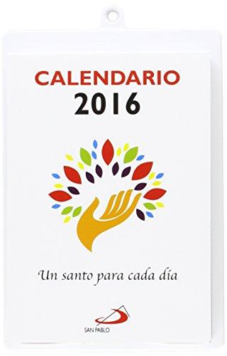 Descargar Libro Calendario Un Santo Para Cada Día 2015 - Tamaño Y Letra Grande: Con Soporte Atril Equipo San Pablo