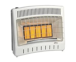 Lenomex 44406000 Vent-Free Radiant Infrared Natural Gas Room Heater SC30M-1-NG