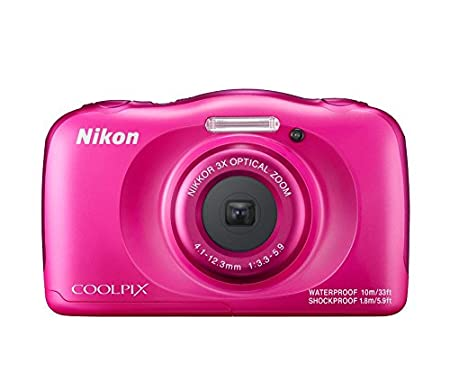 Nikon Coolpix W100 13.2 MP Point and Shoot Digital Camera