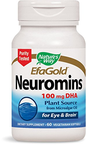 Nature's Way Neuromins 100mg DHA, 60 Softgels