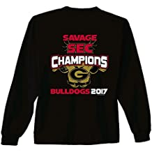 New World Graphics 2017 UGA SEC Champ Special Savage Youth Long Sleeve Tee