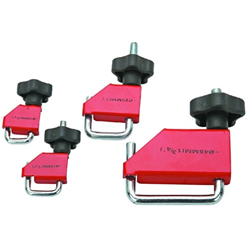 4 Piece Fluid Line Clamp Set Clamp fuel vacuum trans brake heater etc World Ship - Fuel Line Clamp Set