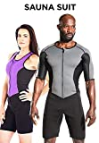 Kutting Weight Sauna Suit for Men | Neoprene Weight Loss Vest for Sweat Fitness Exercise Gym Working Out Training