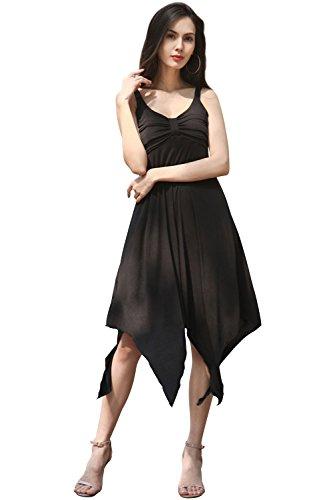 long black handkerchief dress - 7