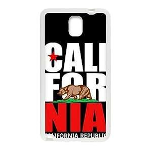 california republic t shirt Phone Case for Samsung Galaxy Note3 Case