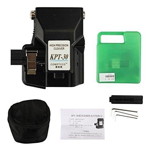 Signstek Automatic Optical Fiber Cutter Cleaver 16 Cut Po...