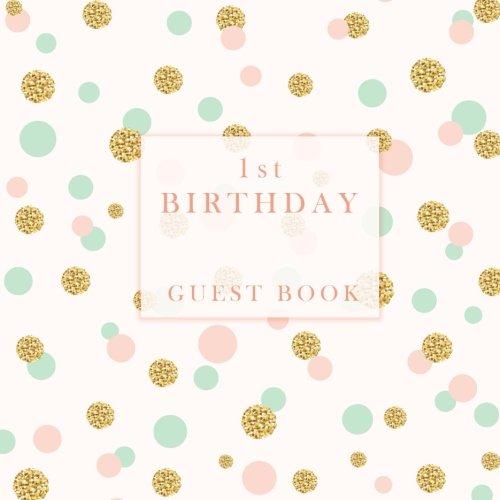 1st Birthday Guest Book -
