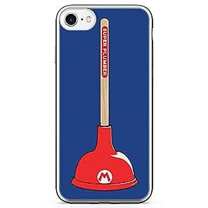 Loud Universe Mario Plumber iPhone 7 Case Super Mario iPhone 7 Cover with Transparent Edges