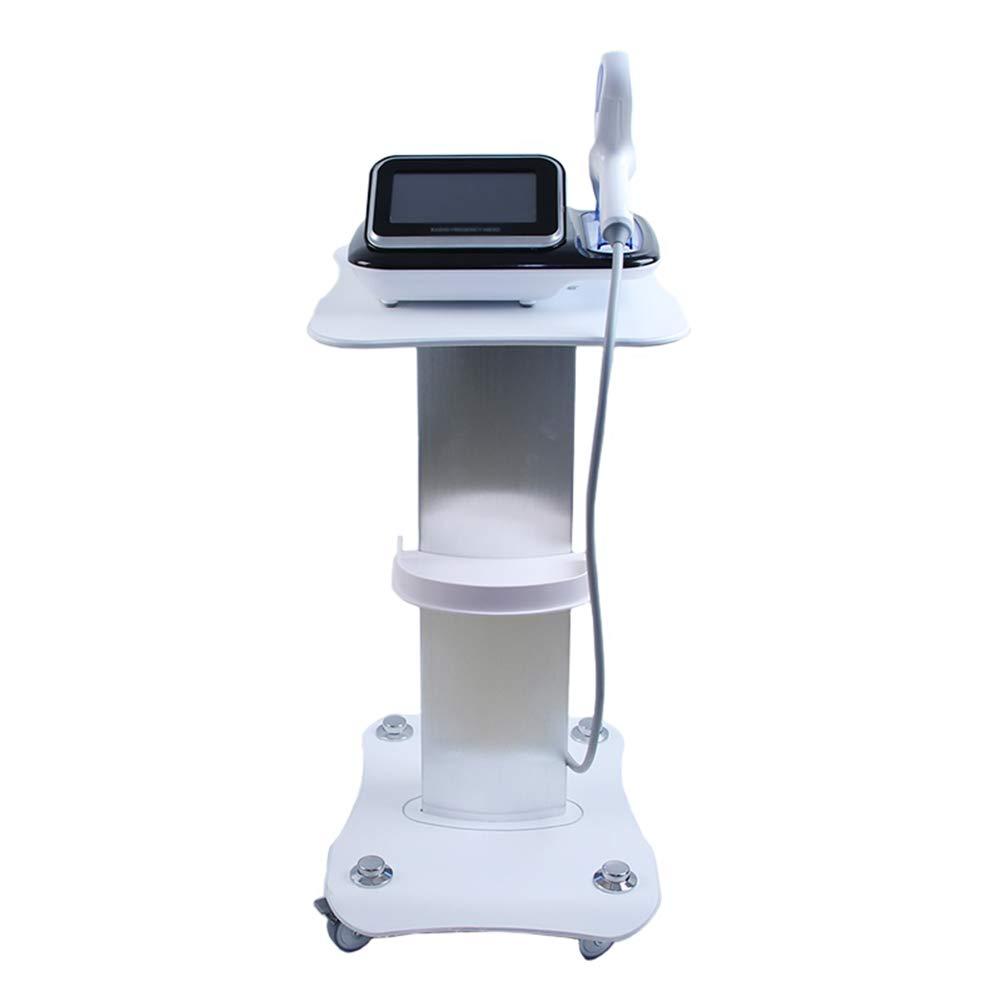 ERRU- White Beauty Equipment Rolling Cart Hair Medical Spa Styling Pedestal Tool Trolley Aluminum Service Cart, Load 70kg