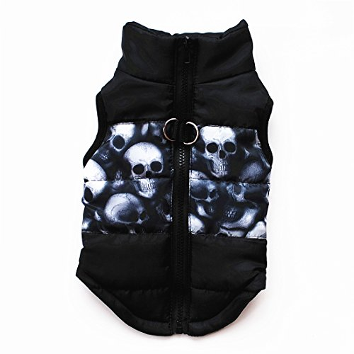 fogohill Dogs Pet Classic Coat Puppy Winter Warm Fashion Outfit Camouflage Apparel Tops B -