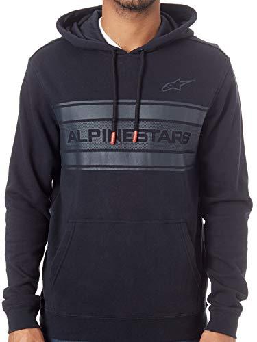 (Alpinestars Men's Pole Fleece Hoody,Medium,Black)